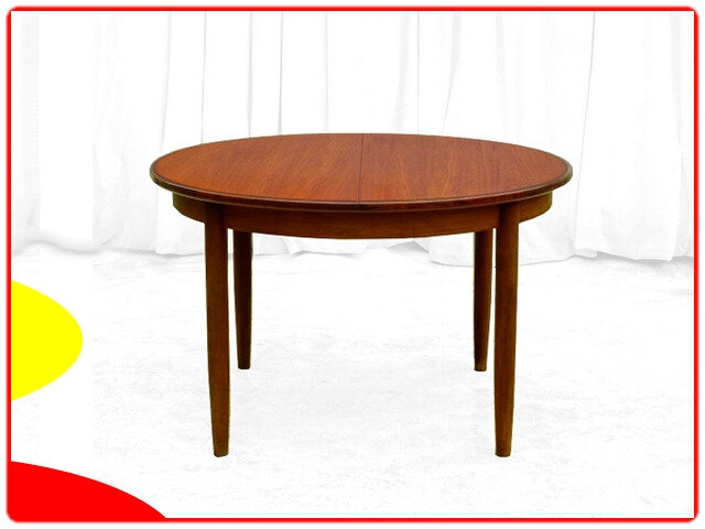 table extensible danoise teck 1960