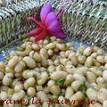 Haricots blancs en sauce aigre-douce