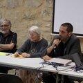Yves Lignon, Geneviève Béduneau et Thibaut Canuti