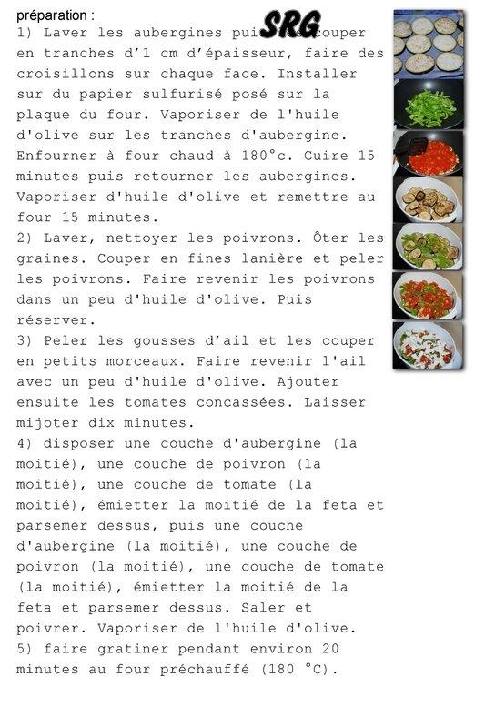 Gratin d'aubergines et de poivrons avec feta (page 2)