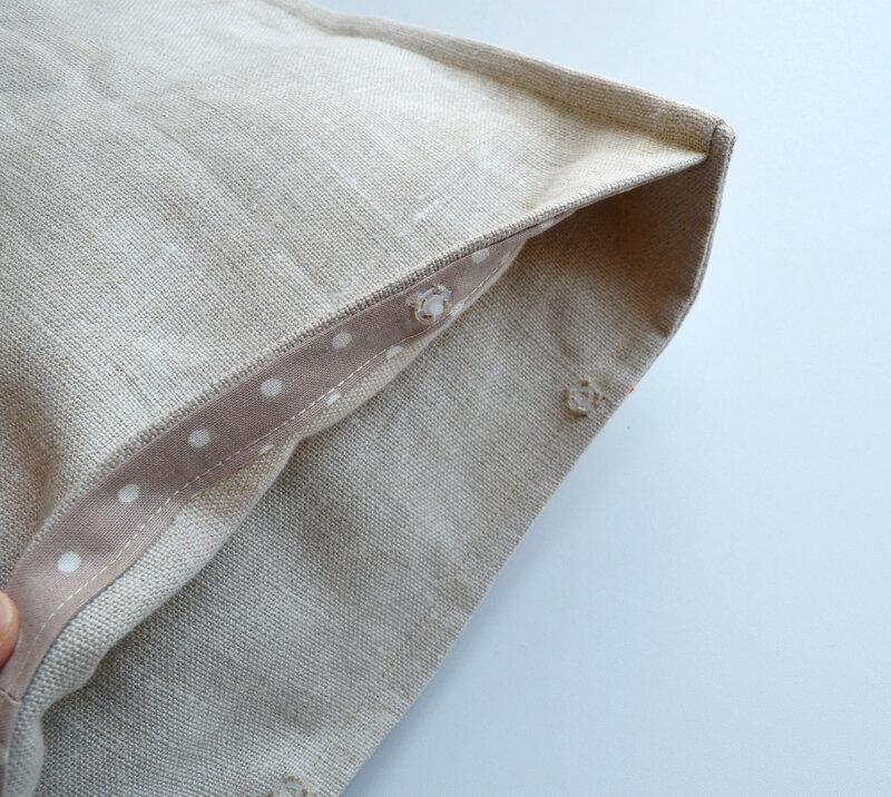 Coussin lin et crochet-la chouette bricole (8)