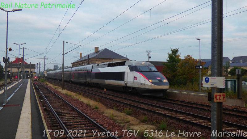 40 ans de TGV en gare d'YVETOT…