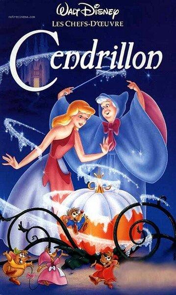 Affiche de Cendrillon (1950)