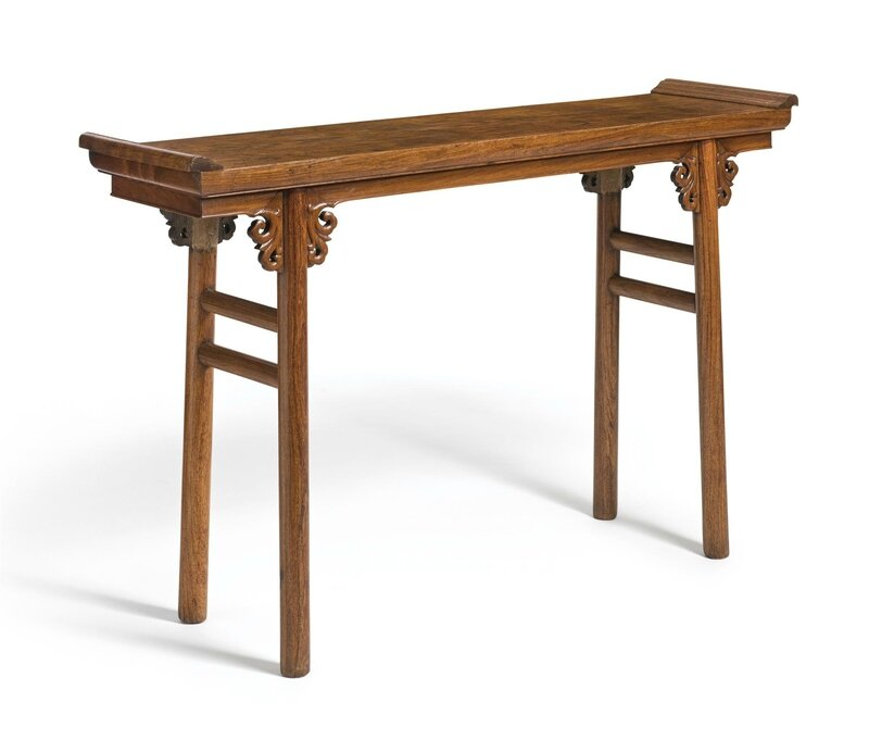A Huanghuali Recessed-leg Table (Qiaotouan) 17th-18th century