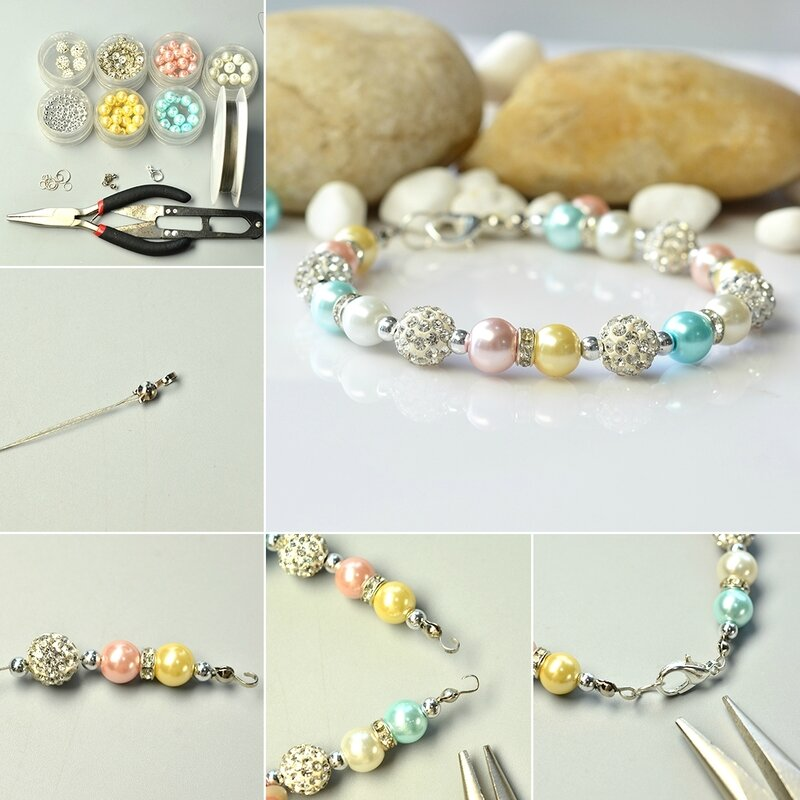 1080-Colorful-Pearlized-Glass-Bead-Bracelet