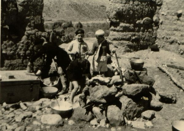 eu maroc louveteaux ferme reifinberg asni 1952