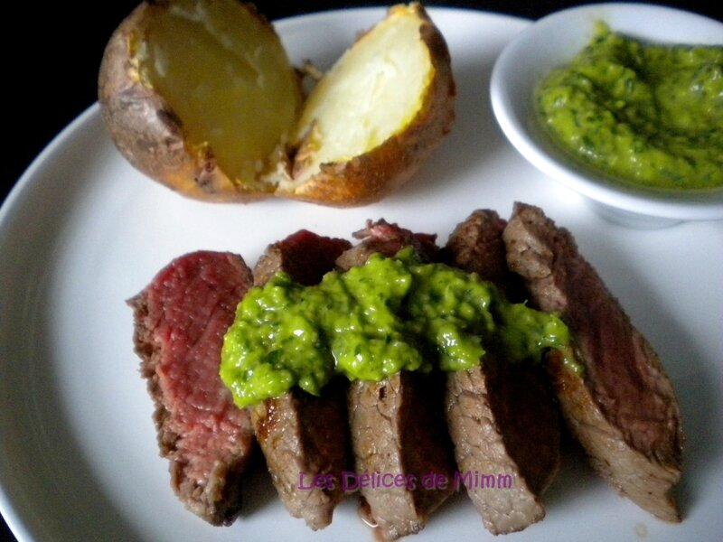 Steaks sauce Chimichurri 6