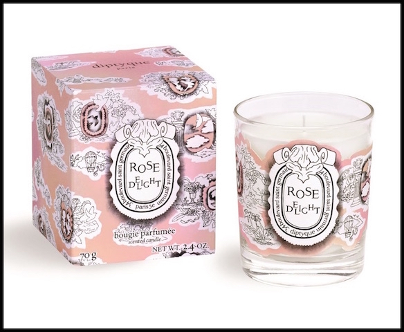 diptyque rose delight bougie 2