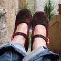 Mes petits chaussons....