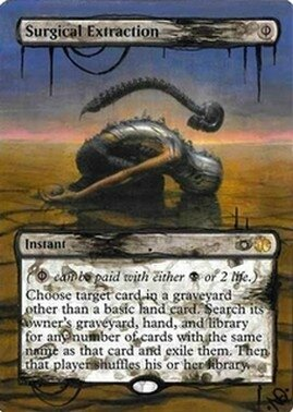 Surgical Extraction Altered