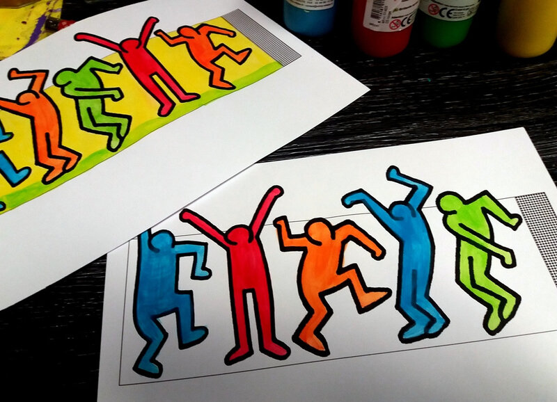 343-Couronnes-Couronne Keith Haring (12)