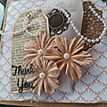 Carte en mode shabby