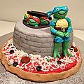 Gâteau Les Tortues Ninjas