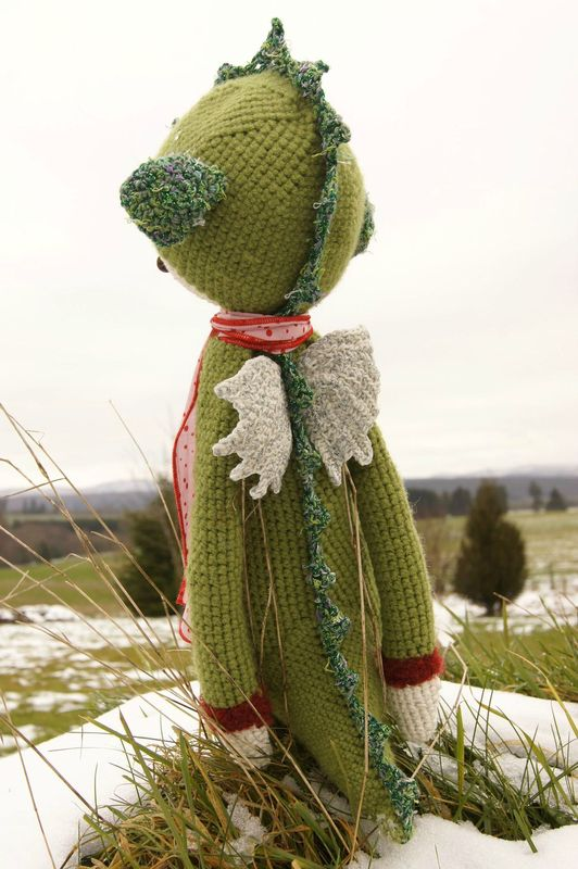 Arthur dragon crochet 12