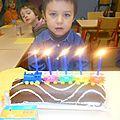 Marlon a 5 ans !