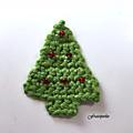 Sapins au crochet / crochet trees