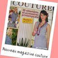 Nouveau magazine couture...