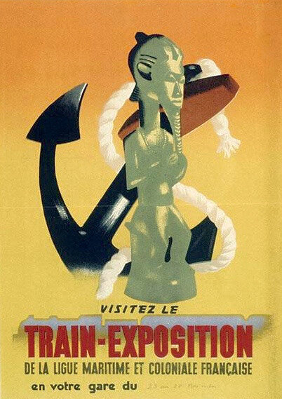 train-expo, Ligue maritime et coloniale, 1943