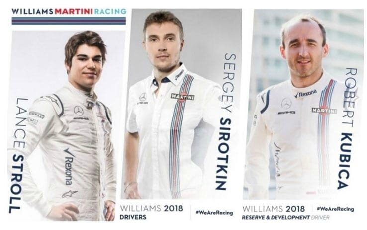 WILLIAMS ARE RACING