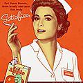 Quand les infirmières faisaient de la réclame !