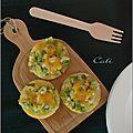 Polenta croustillante aux poireaux & cheddar