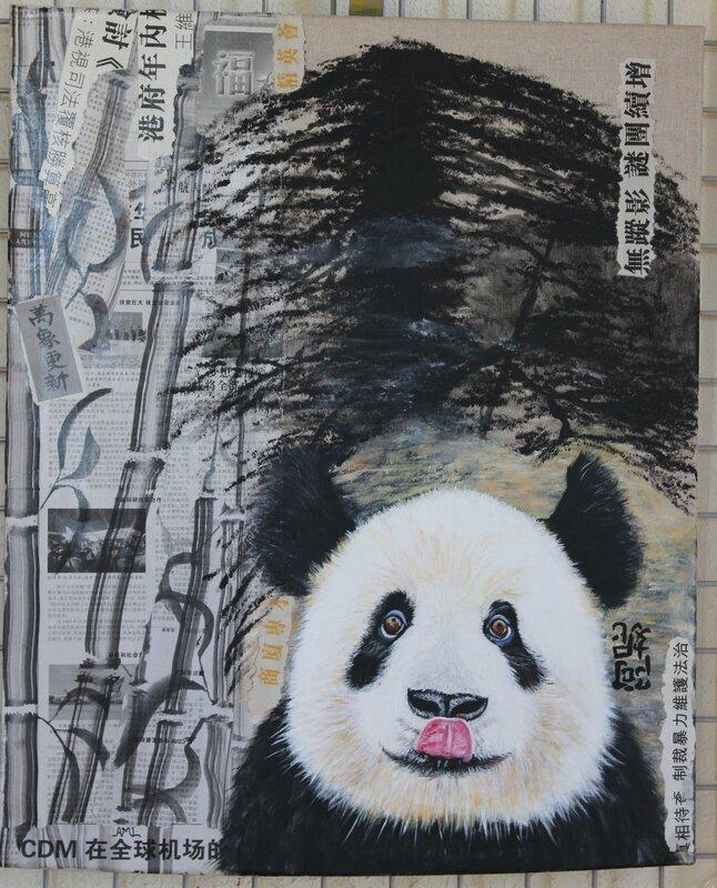 Panda (61x50) Annie