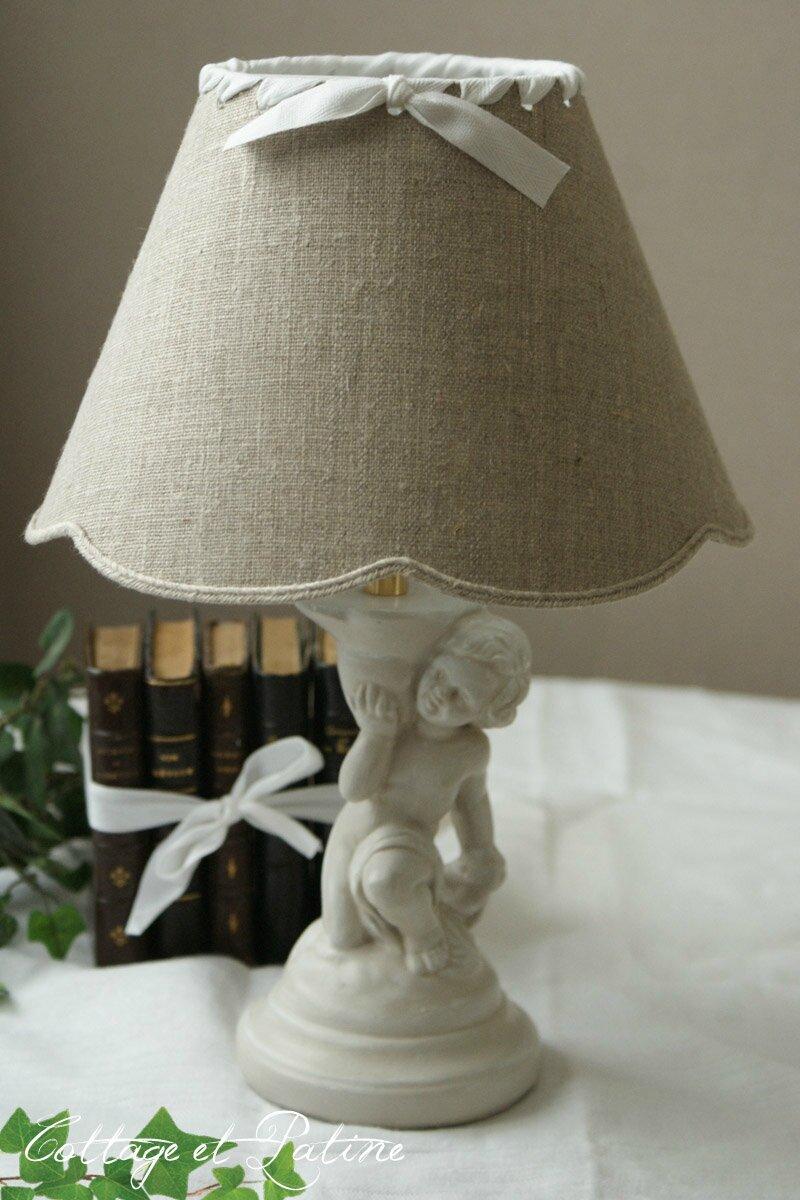 Cottage et Patine lampe ref 3