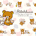 Wallpapers rilakkuma vol 01