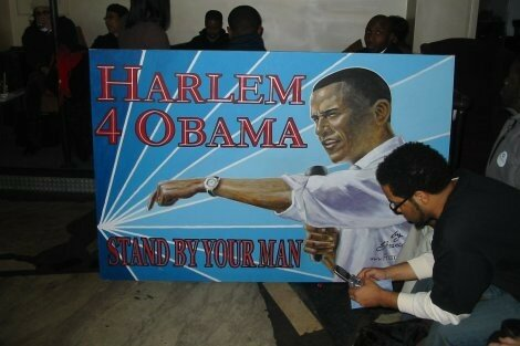 Partisan D'obama au Moca Lounge