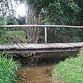 Les petits ponts du village