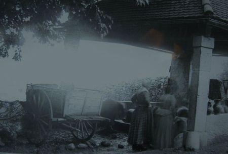 Femmes au lavoir 19ème siècle