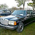 MERCEDES 250 Pullman limousine 1983 Mannheim (1)