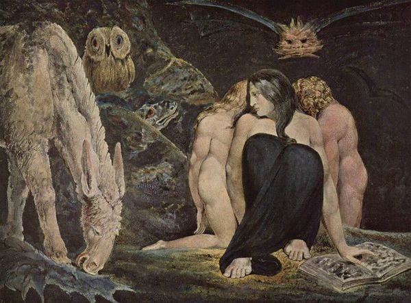 The Triple Hecate - 1795 - William Blake