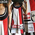 L'intemporel vichy rouge & blanc s'invite sur cette robe isamade : structurée, graphique ! tendance printemps été 2013 ?