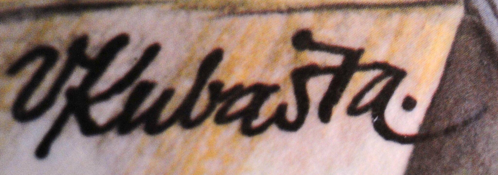 Kubasta signature 1