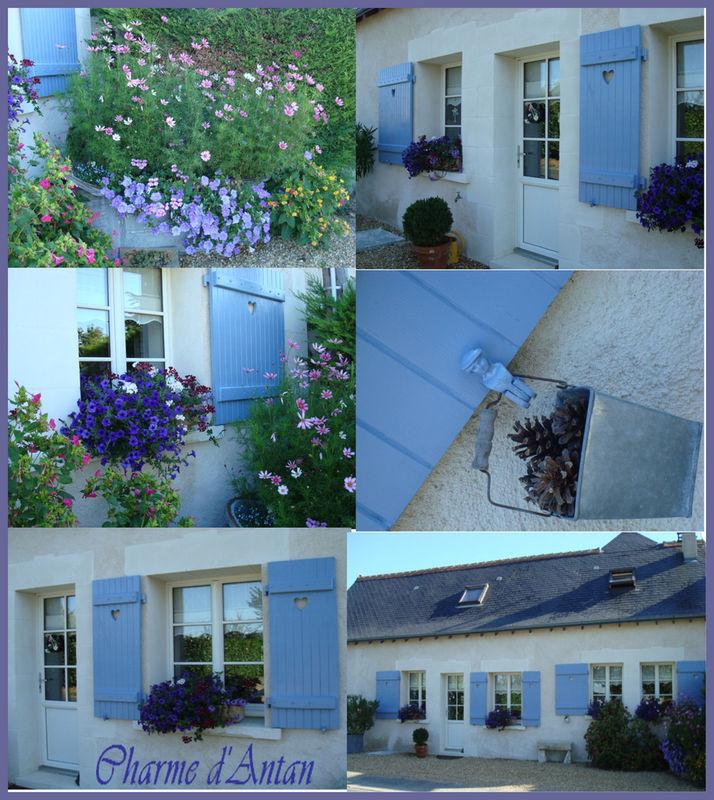 Maintenant Ont Peut Dire La Maison Aux Volets Bleus Charme Dantan