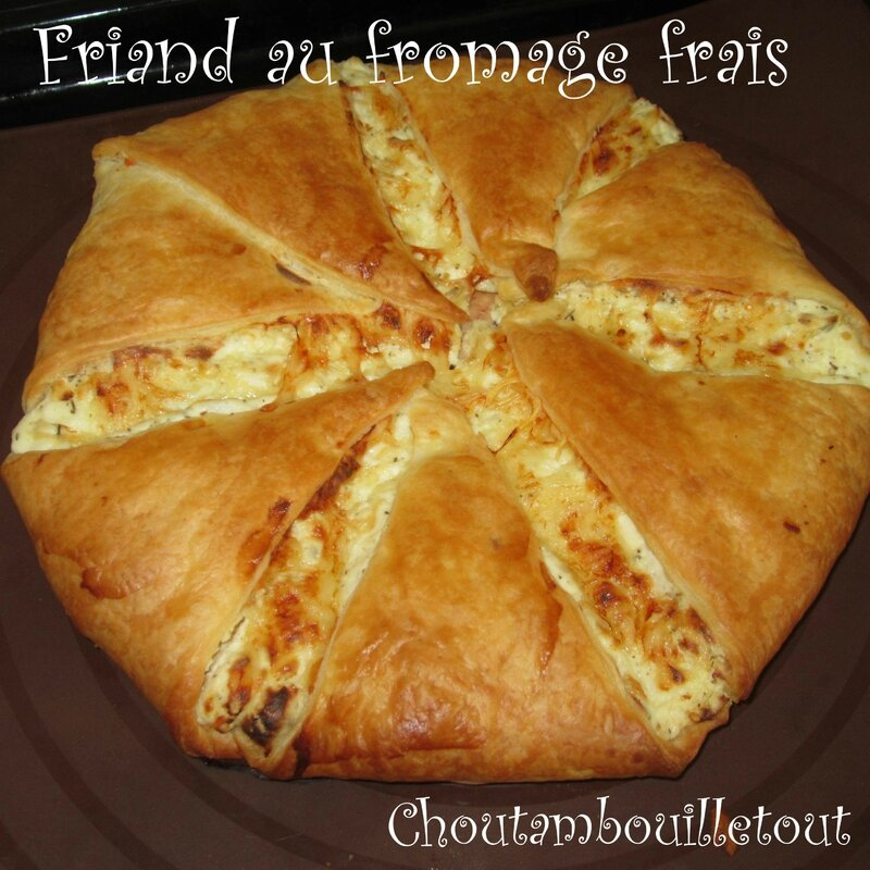 friand fromage frais