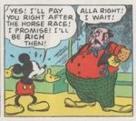 Mickey Mouse de Floyd Gottfredson chez Gloewen et Scrat 2