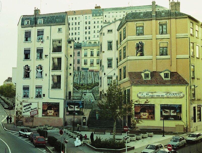Le Mur des Canuts 1ère version (1987)