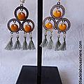BO Philomène argenté (jaune et gris) - 21 €