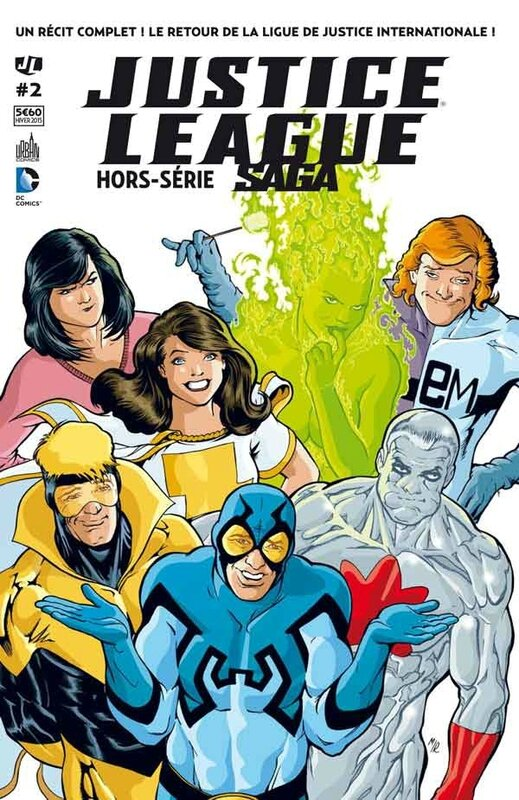 justice league saga hs 2 JLI