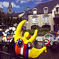 CHATEAU-CHINON, fontaine Niki de Saint Phalle et Jean Tinguely (58)