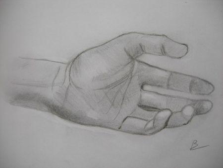 Etude de main 3
