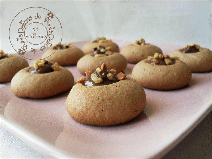 Biscuits Nutella au coeur nutella 3