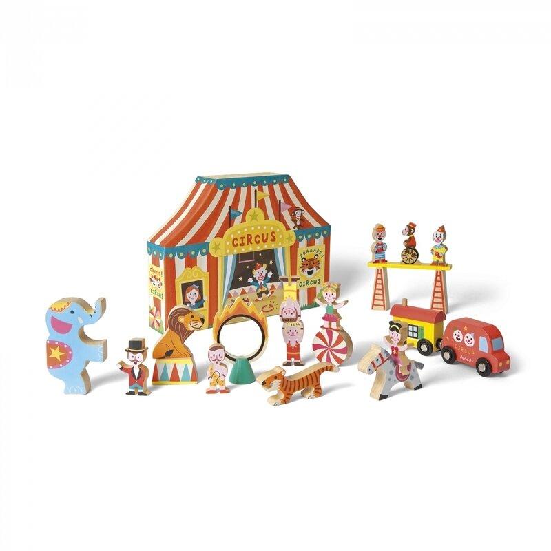 Janod - story box cirque - 1
