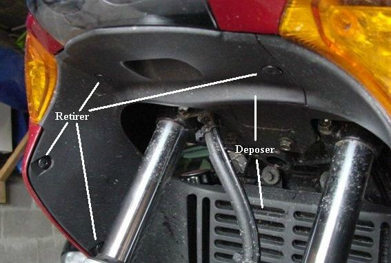 Schema Elettrico Honda Varadero 1000 : Dépose repose du carénage avant un peu de moto et