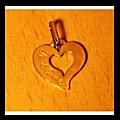 Pendentif cœur d'amour du grand marabout aguida