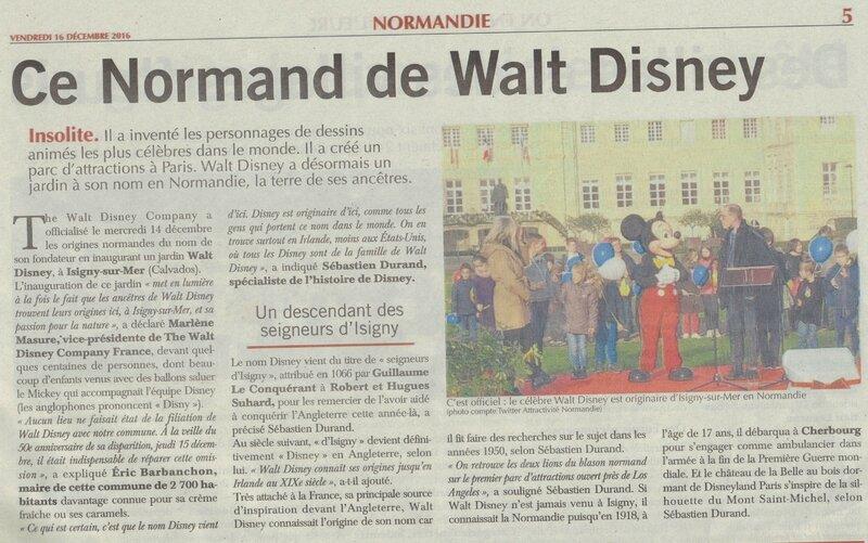 walt dysney le normand