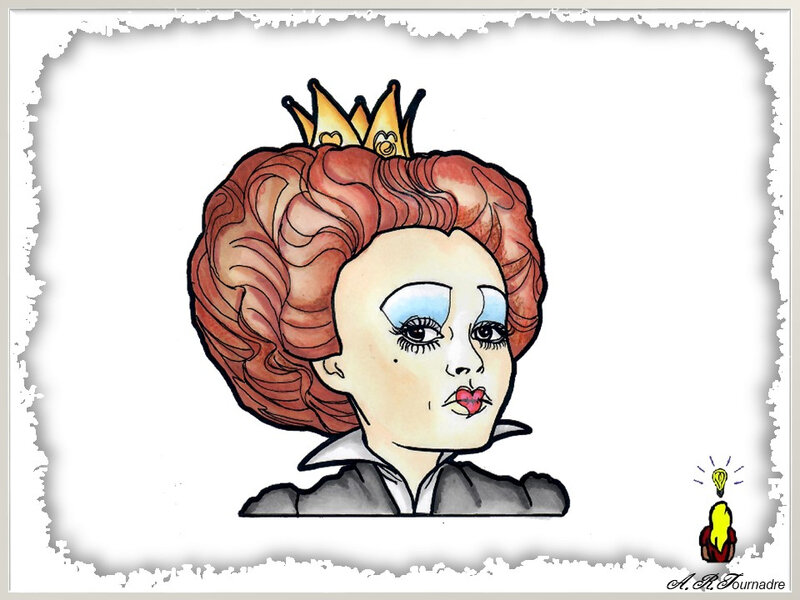 ART 2020 08 c est la vie Alice Reine de Coeur