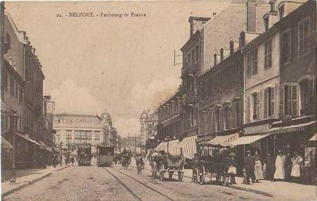 CPA Tramway 191X fb de france
